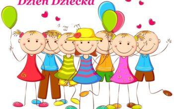 uśmiechnięte dzieci 1 czerwca dzień dziecka